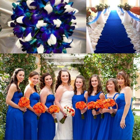 inspiration de mariage bleue avec charme
