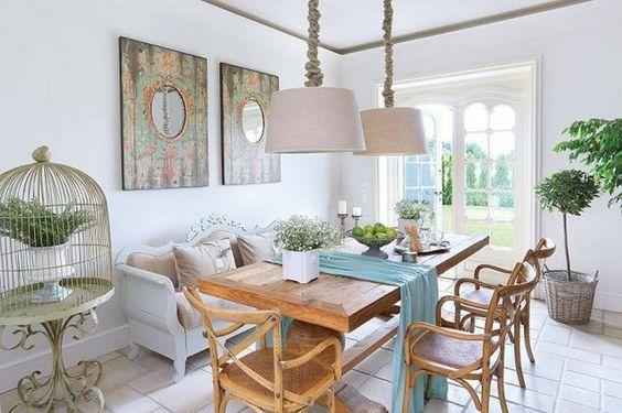 Lovely Deco: Une grande maison pleine de charme