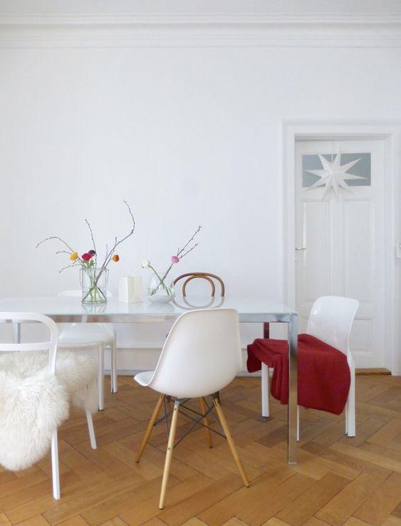 Essplatz im Januar  #interior #einrichtung #wohnen #living #dekoration…