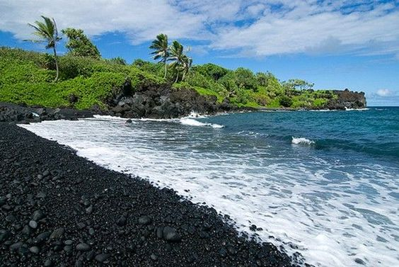 Black Sand, Santorini, Greece. Can't believe I'll be here in less than 2 months!