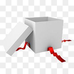 Gift Clipart Open Empty Empty Gift Box Gift Box White Gift Box Paper Box Christmas Gift A Birthday Present Red Ribbon Gi White Gift Boxes Red Gift Box Gift Box