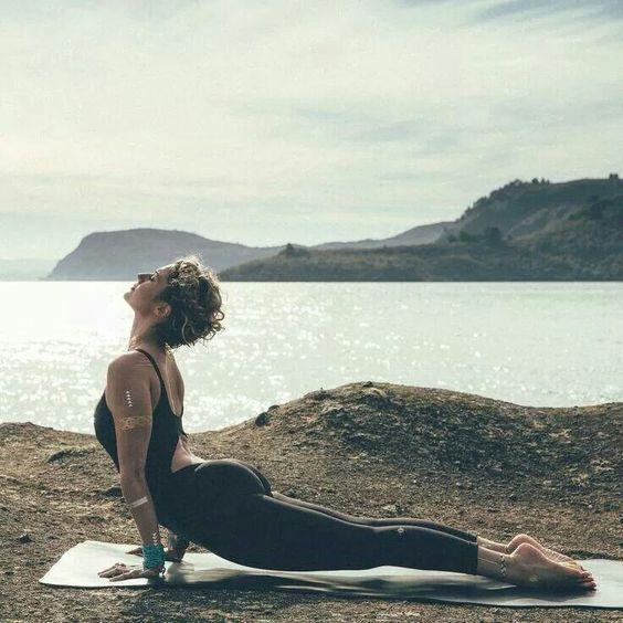 Beautiful yogini
