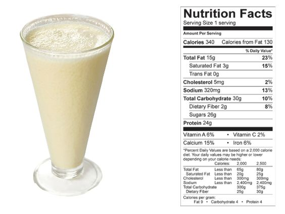 Peanut Butter Smoothie (NCAA COMPLIANT) made with BiPro Whey Protein Isolate.  Lean. Clean. Protein.
