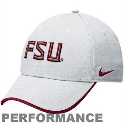 Nike Florida State Seminoles (FSU) Legacy 91 Dri-FIT Adjustable Coaches Cap - White