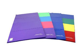Tumbling Mats - tumbling foam vinyl panel velcro mats - Tumbl Trak - Gymnastics, Cheerleading and Dance Equipment