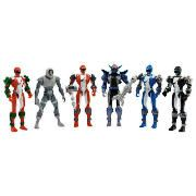 Power Rangers Operation Overdrive Hero Set Pack The Power Rangers Operation Overdrive Hero set includes 6 figures. Battle with the complete set of Operation Overdrive Power Rangers with their glow-in-the-dark weapons. Age range 4yrs . http://www.comparestoreprices.co.uk/action-figures/power-rangers-operation-overdrive-hero-set-pack.asp