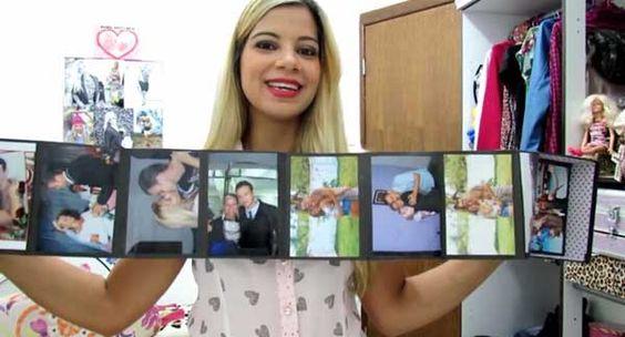 Caixinha Surpresa com Fotos para o Dia dos Namorados
