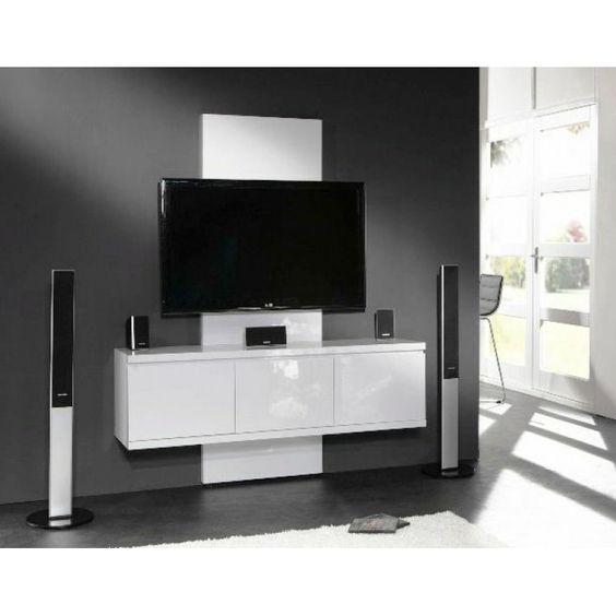 Woonkamer Inrichten 3d Ikea : Zwevend tv kast hoogglans giani fiore dp ...