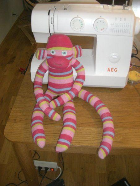 Learn how to sew a sock monkey :)