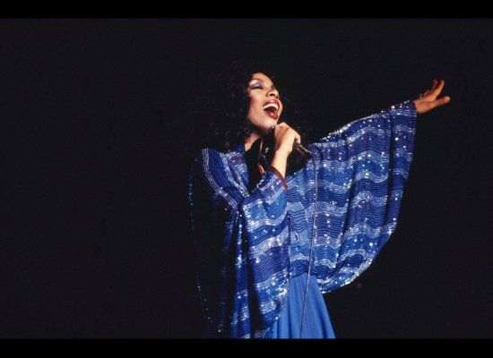 Donna Summer - the disco queen will always be remembered for her fabulous style and groundbreaking music.