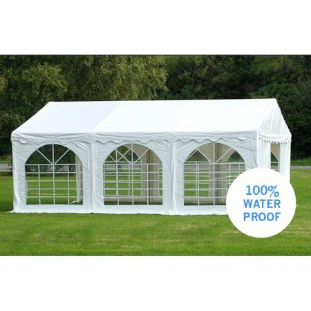 Party Tents Direct Pvc Outdoor Wedding Canopy Event Tent With Sidewalls 10x20 Backyardweddings In 2019 Tent Wedding Wedding Canopy Canopy Shelter