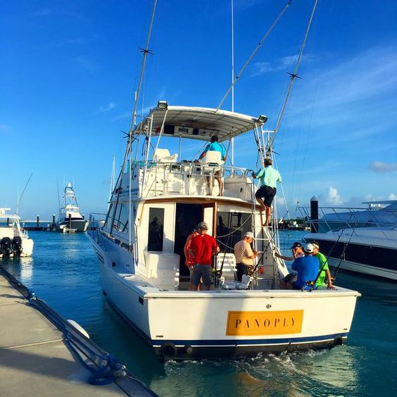 Who are you bringing to Turks and Caicos to fish with Panoply Sport Fishing Charters the next time you visit?  Embedded image permalink