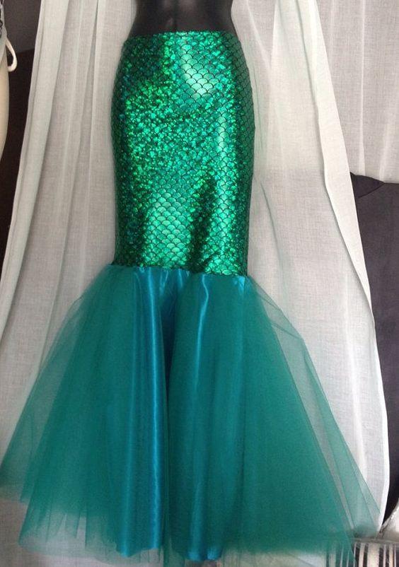 Diy Mermaid Tail Costume Mermaid princess adult mermaid