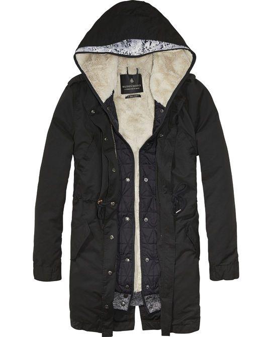 2-in-1 Parka Jacket - Scotch