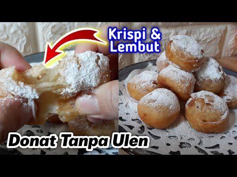 Resep Donat Tanpa Ulen Yang Krispi Lembut Mochi Donut Recipe Youtube Resep Selai Coklat Resep Masakan