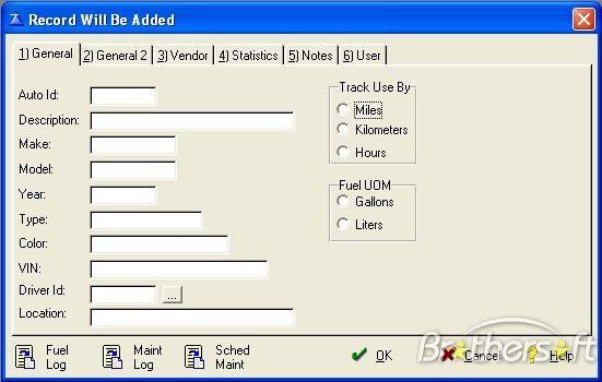 vehicle maintenance log excel