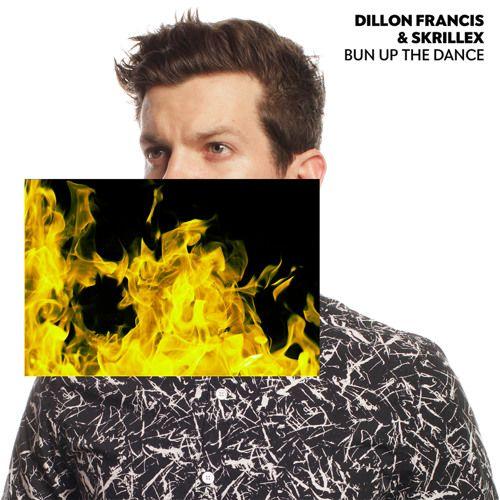 Dillon Francis, Skrillex – Bun Up the Dance (single cover art)