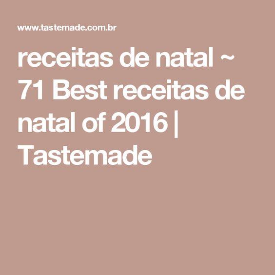 receitas de natal ~ 71 Best receitas de natal of 2016 | Tastemade