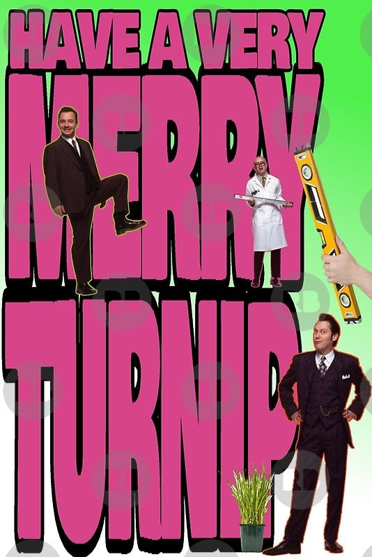 Vic Reeves Christmas Turnip Greeting Card By Loganferret Vic Reeves Printed Cards Cards
