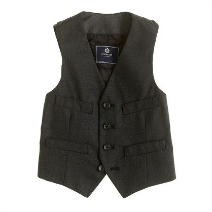 $75 Boys' Ludlow vest - Heather charcoal? Outfit #2