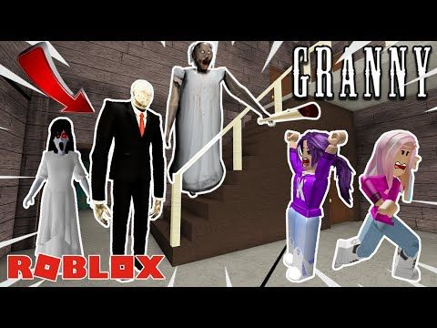 Good Slenderman Games On Roblox Slenderman Moves In With Granny Roblox Granny Escape Youtube Roblox Slenderman Granny