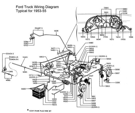 53 ford f100 wiring diagram  53  get free image about