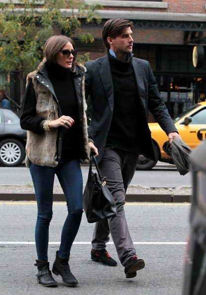 Olivia Palermo in Report Jude Ankle Boots