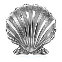 Buccellati Sterling Silver Chlamys Shell Dishes