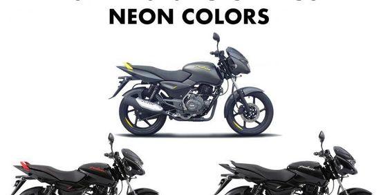 2019 Bajaj Pulsar 150 Neon Colors Yellow Red Silver Neon