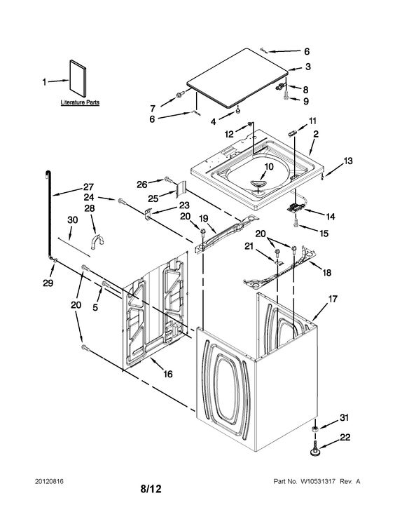 Http Www Searspartsdirect Com Model Part Ntw4600yq1 1268 0153200 W1208035 00001 Html Washer Parts Whirlpool Diagram