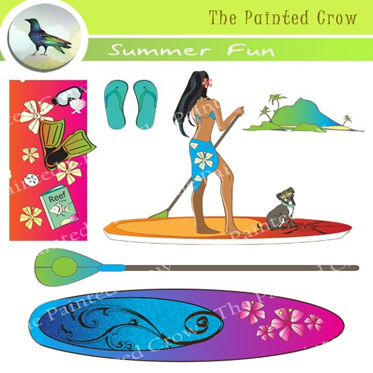 Beach Towel Clip Art: Fun Beach Towel Clip Art