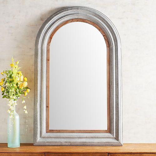 Galvanized Arch Mirror Arch Mirror Mirror Arched Wall Decor