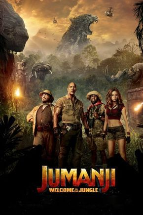 Jumanji Welcome To The Jungle 2017 Posters The Movie Database Tmdb Welcome To The Jungle Full Movies Movie Covers