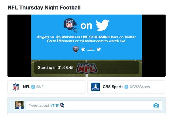 Heres how to watch Thursday Night Football on Twitter tonight Read more Technology News Here --> http://digitaltechnologynews.com Twitters big day is finally here. Tonight is the first night of NFLs Thursday Night Football which will be streamed all season on Twitter (as well as CBS and NFL Network as cable partners). Twitter reportedly beat out companies like Facebook and Amazon for the exclusive mobile stream and at the time it was a big win for the company under the then new CEO Jack…