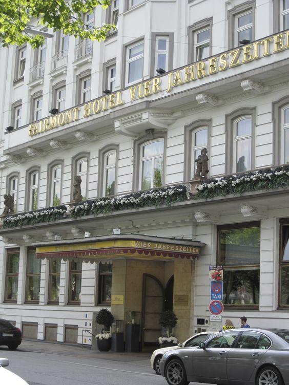Hotel Vier Jahreszeiten - Hamburg, Germany #1000PlacesToSeeBeforeYouDie