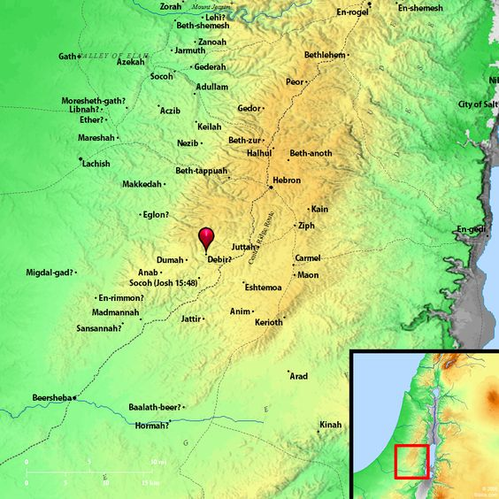 Bible Map Debir Bible Images Pinterest Bible Images And Bible - Map of egypt old testament