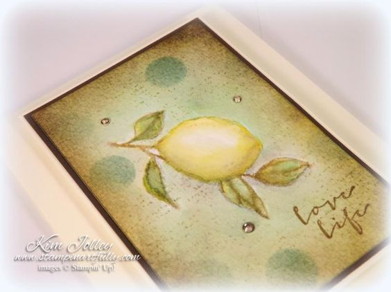 When Life Gives You Lemons by kimjolley - Cards and Paper Crafts at Splitcoaststampers