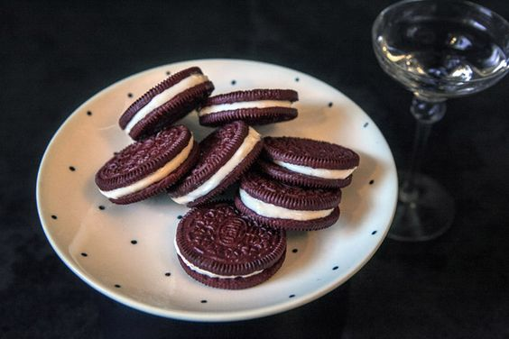 Upgrade Your Oreos with Boozy Fillings
