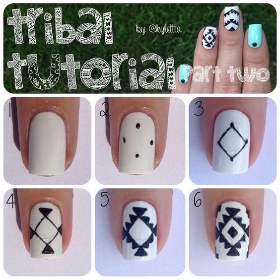 Instagram Analytics | Tutorial nails, Manicures and Tribal ...