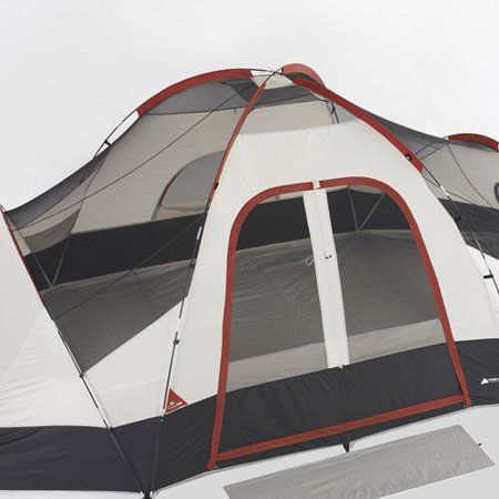 Ozark Trail 8 Person Modified Dome Tent With Rear Window Walmart Com Tent Camping Family Tent Camping Ozark Trail
