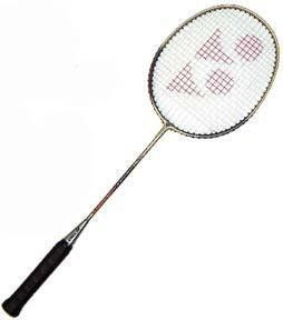 Badminton Racket - Yonex Aluminum - Racket Sports by Olympia Sports. $28.95. Yonex B-550...Aluminum head and steel shaft...Patented built-in T-joint, which makes a stronger racket with more consistency and control.