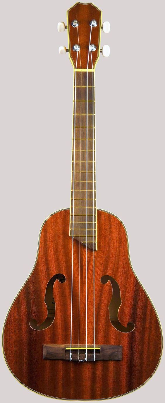 Blue Moon f Hole Mandolin pear Acoustic Jumbo Tenor