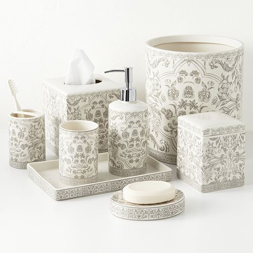 Orsay Bath Accessories With Images Bathroom Decor Accessories