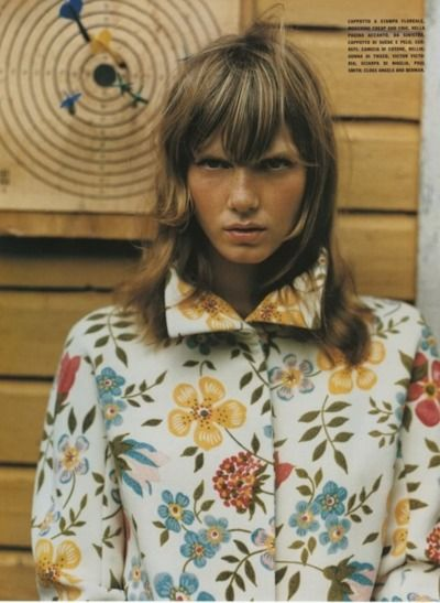"""""""In aFairyTale Mood"""", Angela Lindvall photographed by Mikael Jansson in Vogue Italia October 2001"""