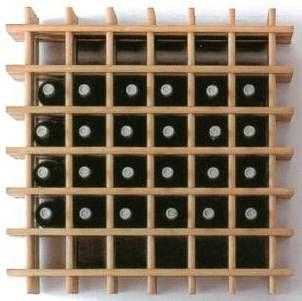 Mueble para botellas de vino botelleros pinterest for Mueble vinos