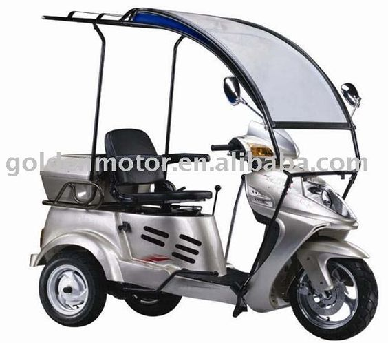 Disability Trike Three Wheel Motorcycle