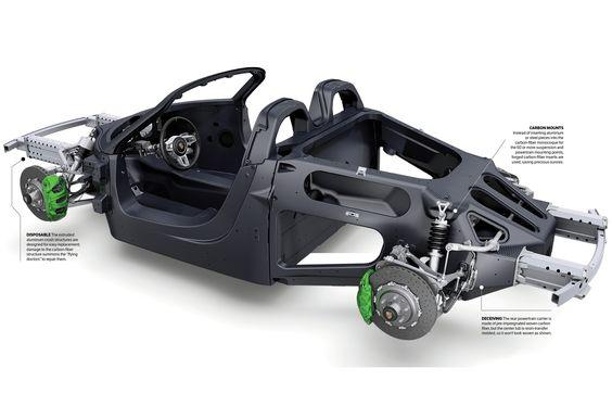 2014 porsche 918 spyder frame space frames tubular. Black Bedroom Furniture Sets. Home Design Ideas