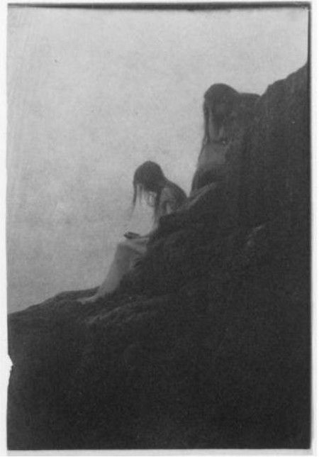 "Anne Brigman; ""Souls of the weeping rock"" 1910"
