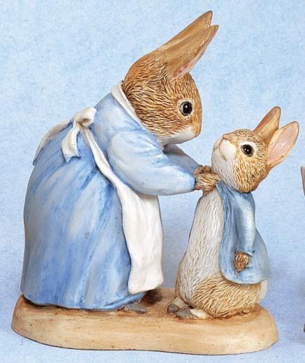 Mrs Rabbit and Peter - Beatrix Potter