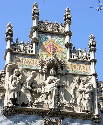 Barcelona - Gran Via 477 b, via Flickr.